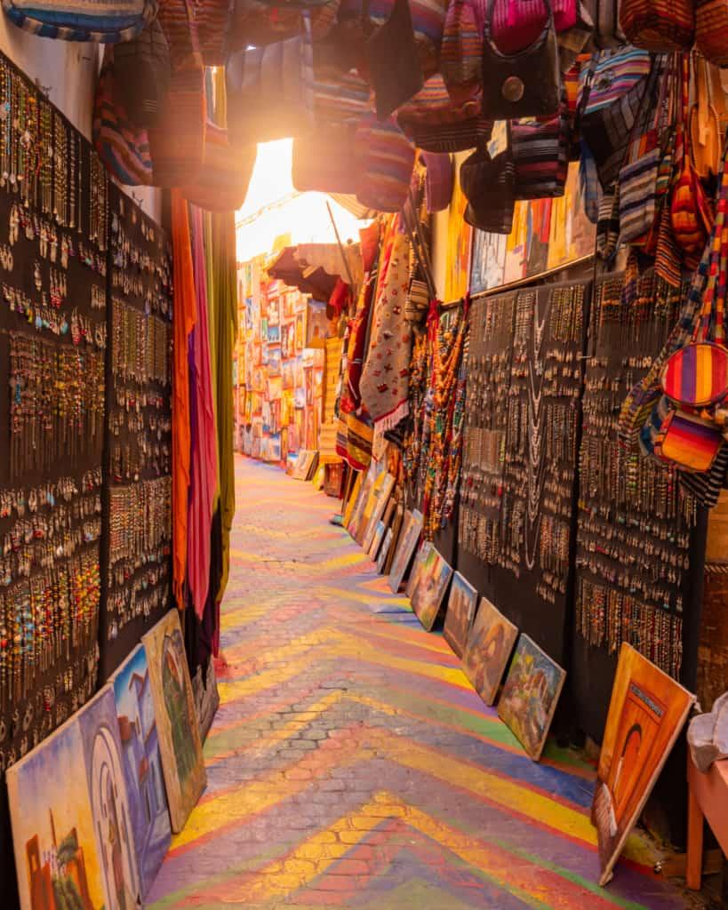 Morocco-Fes-Medina-rainbow