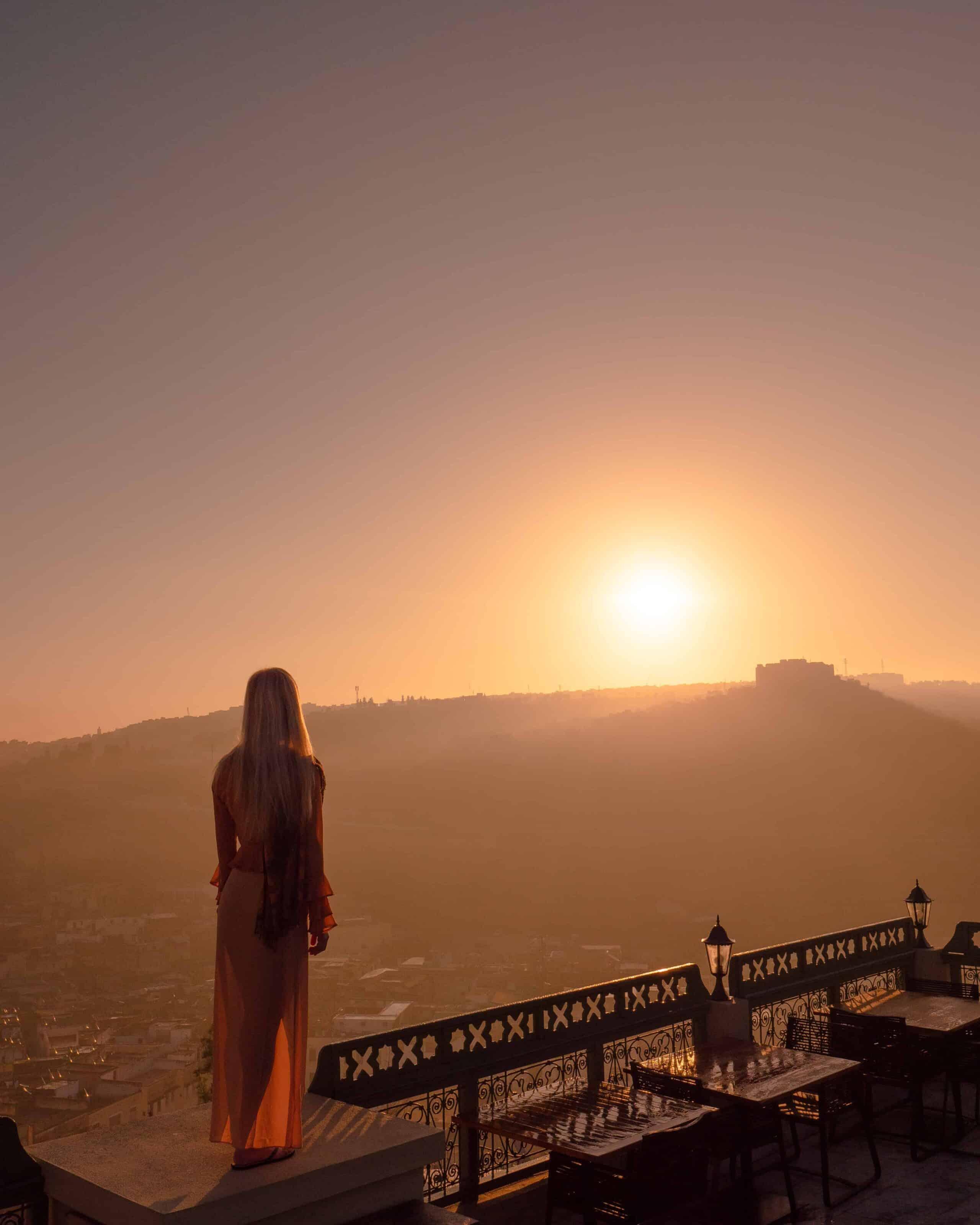 Morocco-Fes-sunrise-palais-faraj