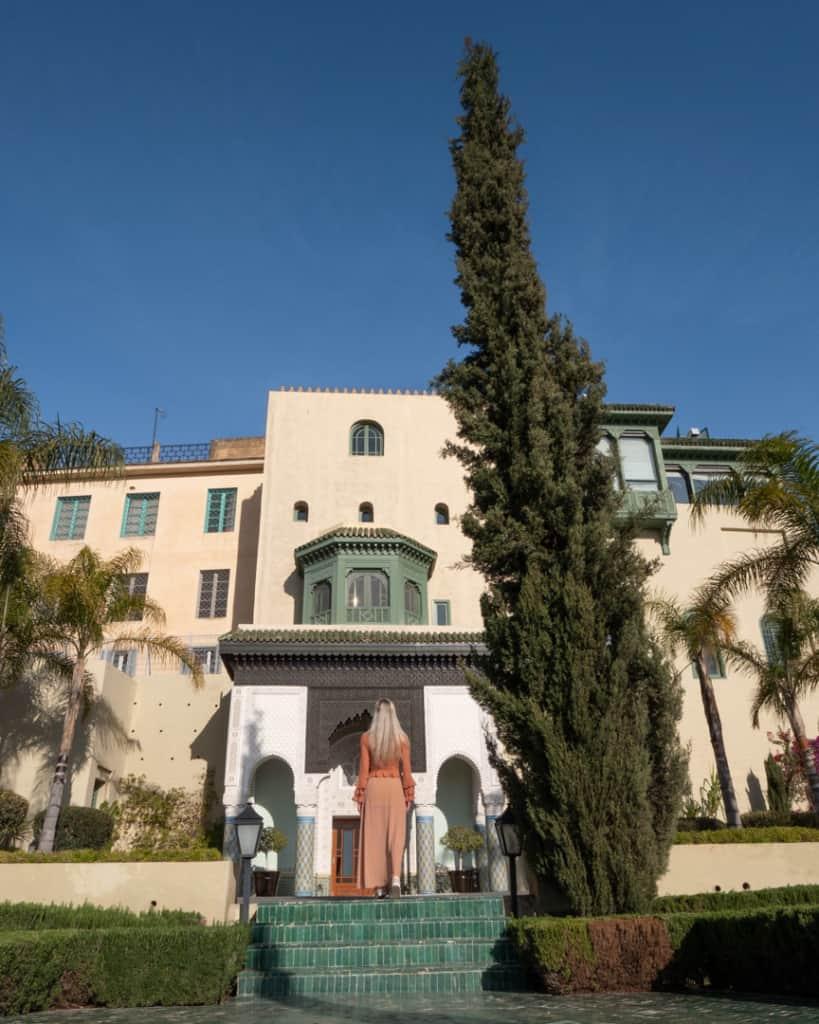 Morocco-palais-faraj-entrance-hotel