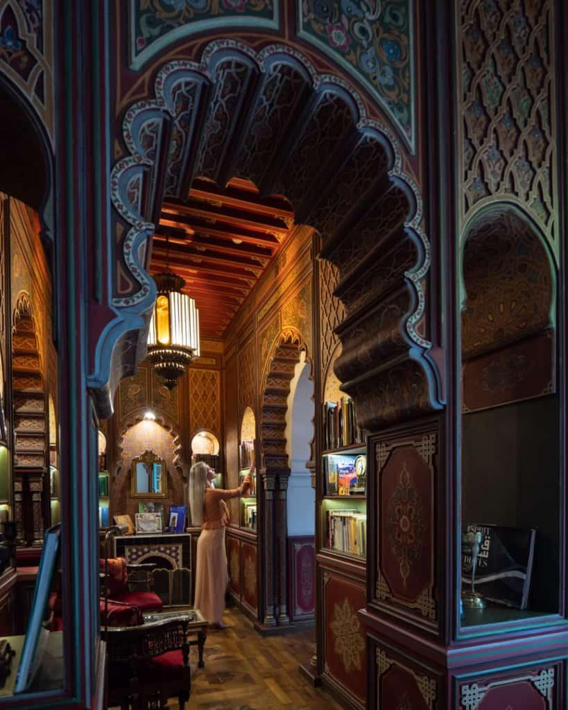 Palais-Faraj-Fes-review-hotel-library