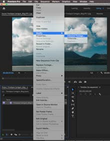 timelapse-adobe-premiere-video-file-interpret-footage