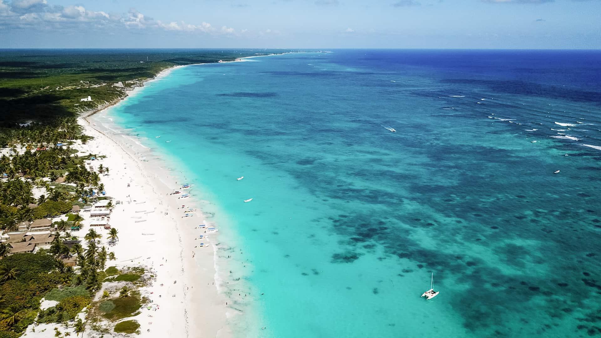 Tulum-beach-drone