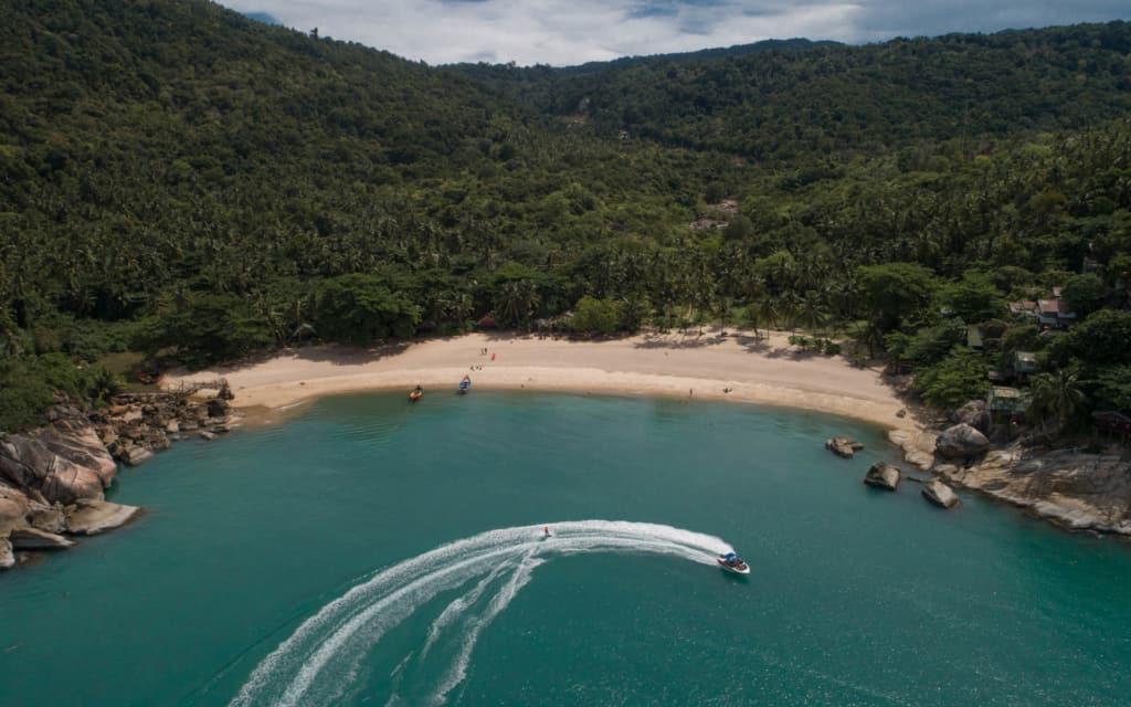 bottle-beach-koh-phangan-drone