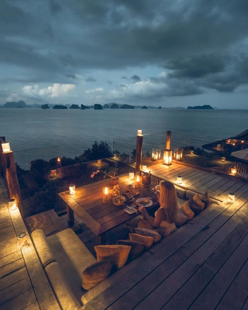 Six-Senses-Koh-Yao-Noi-dinner-view