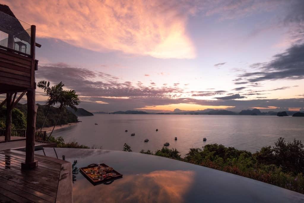 Six-Senses-Koh-Yao-Noi-floating-breakfast-sunrise