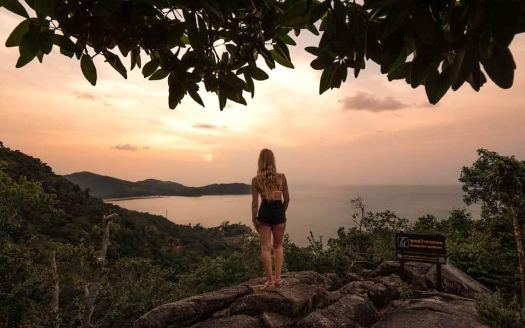 koh-phangan-viewpoint-sunset