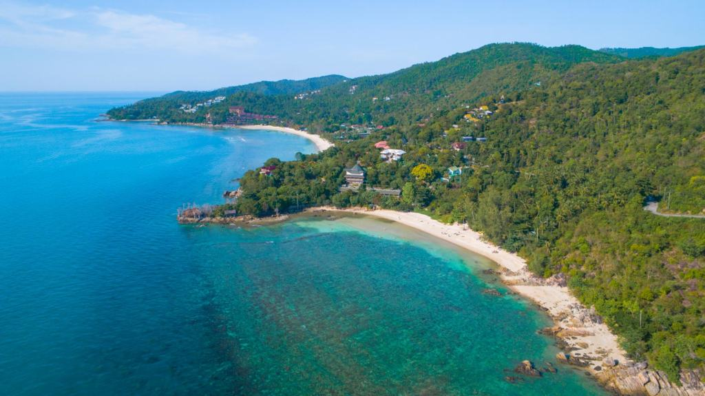 secret-beach-koh-phangan-drone-2
