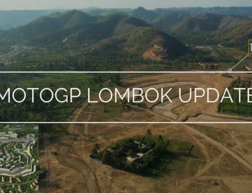 Progress Sirkuit MotoGP Mandalika Lombok Indonesia