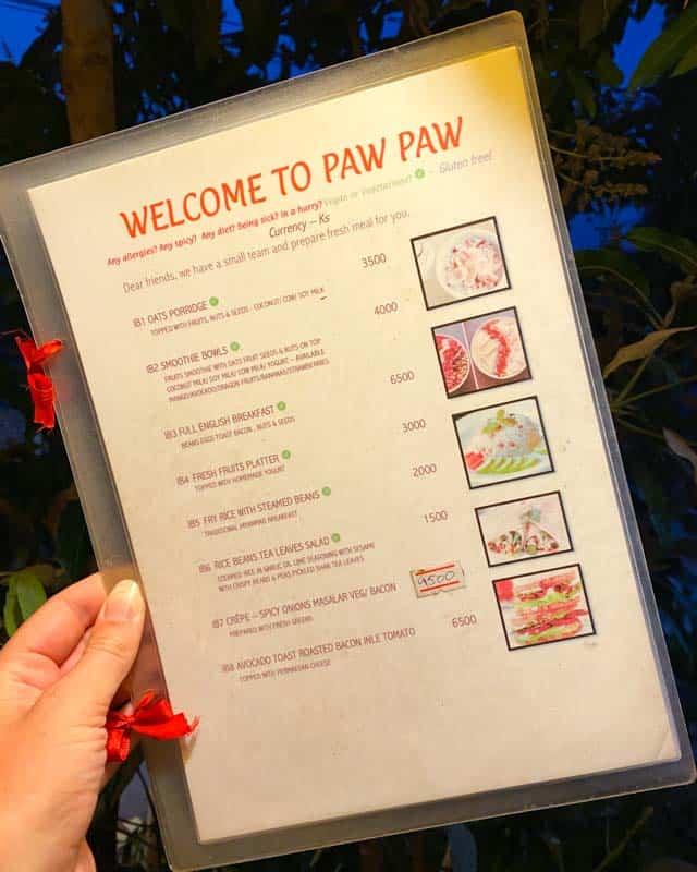pawpaw-menu