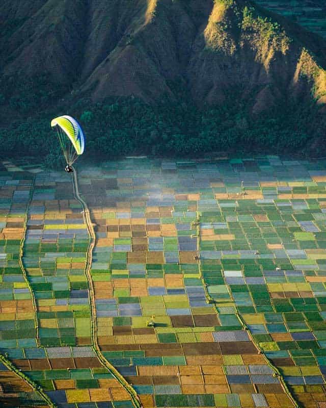 paragliding-sembalun