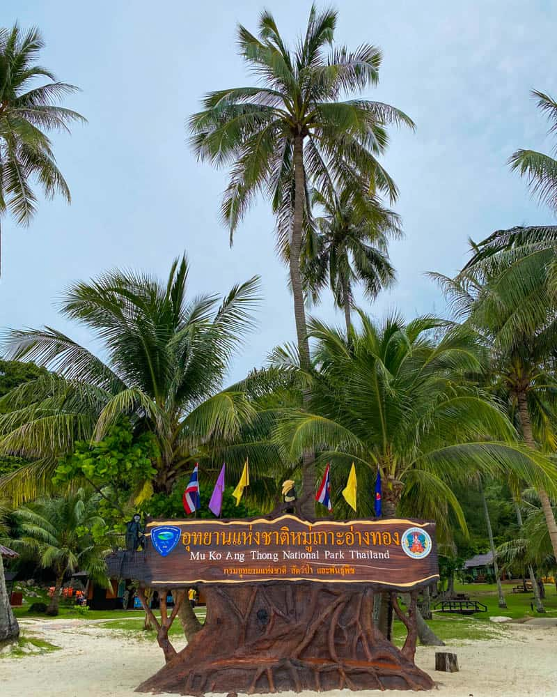 ang-thong-national-marine-park-sign