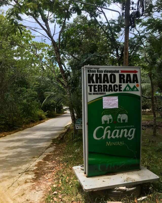 khao-raa-sign-road