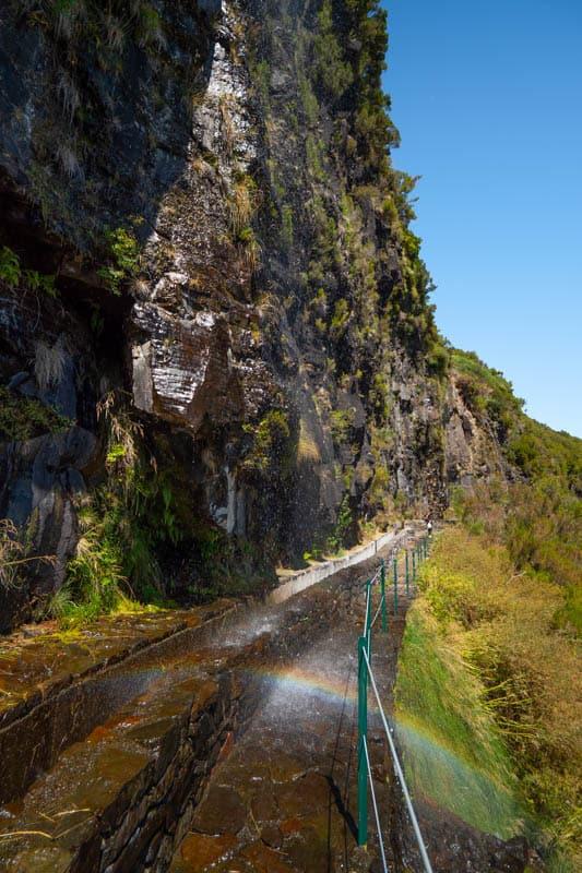 rainbow-waterfall