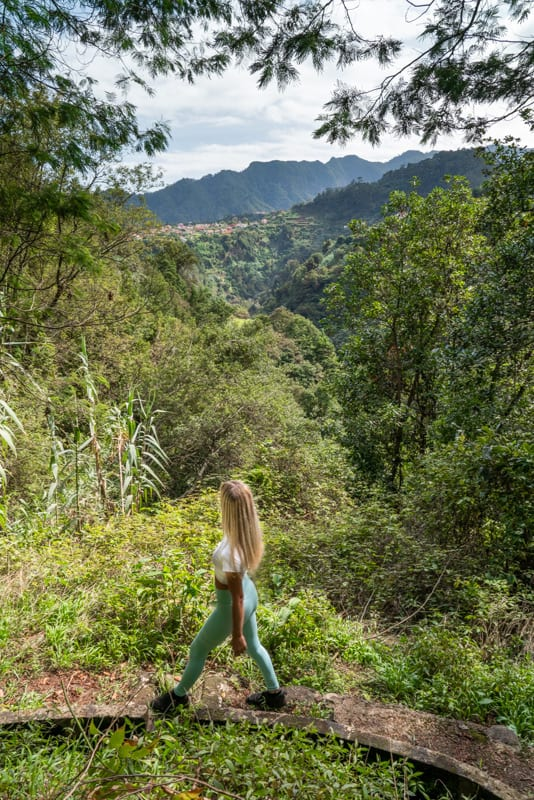 Agua-d'Alto-waterfall-levada-view