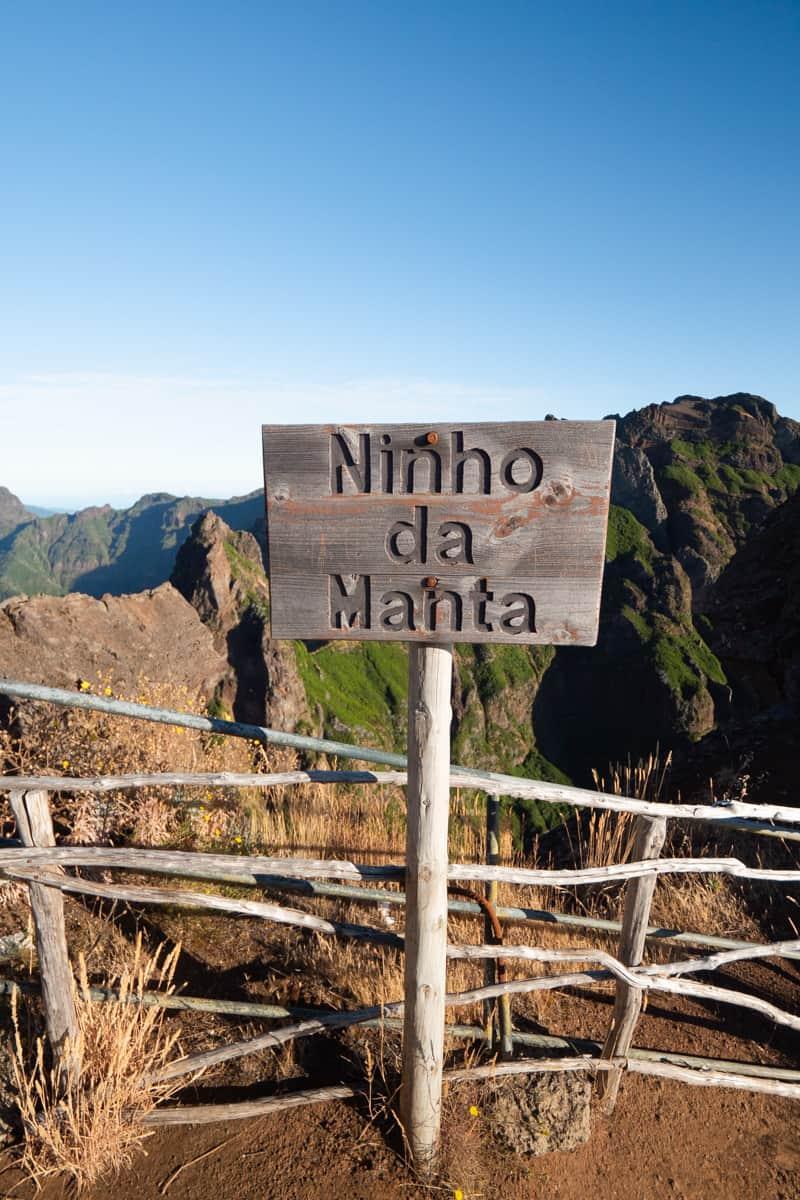 Ninho-da-Manta-sign