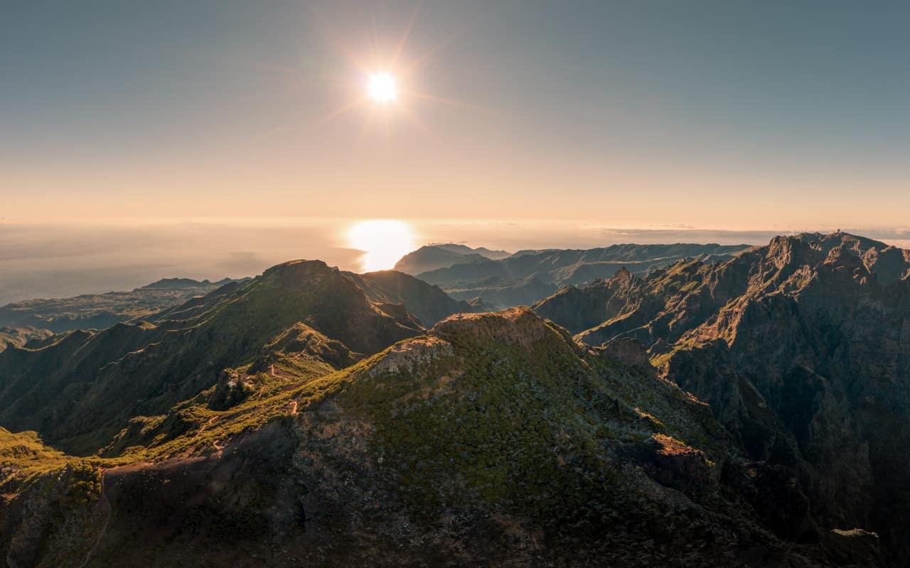pico-ruivo-summit-drone