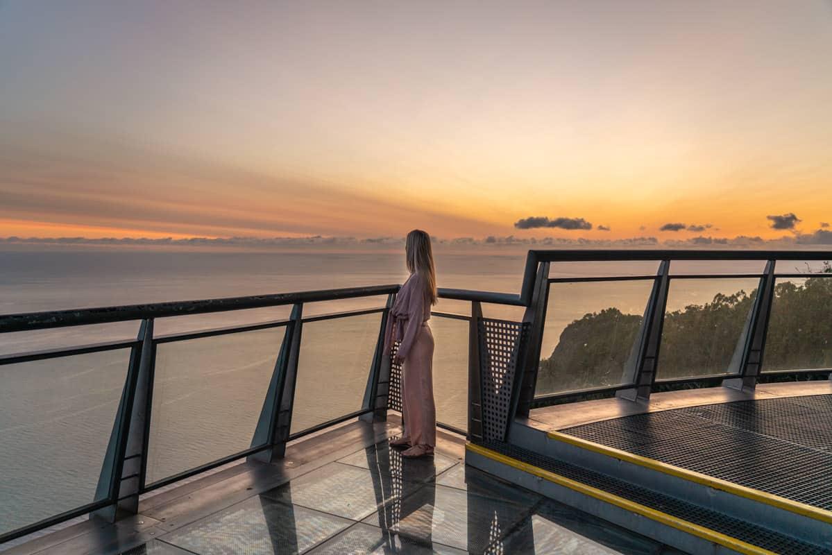 cabo-girao-skywalk-sunset