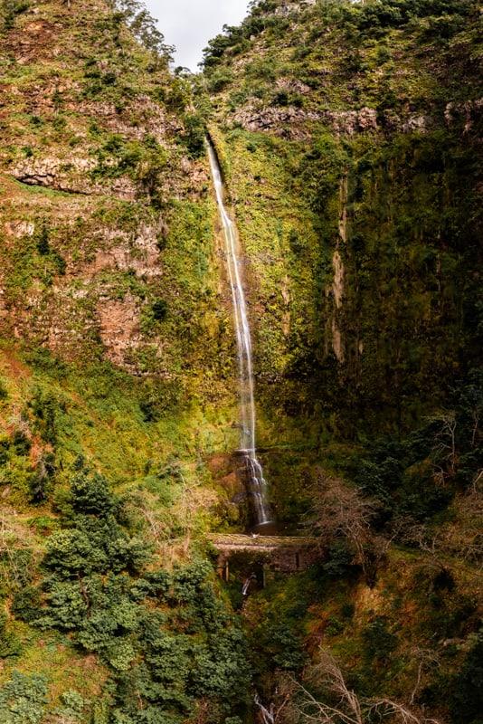 pisao-waterfall-madeira-drone