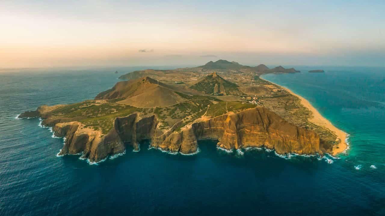 porto-santo-island-drone